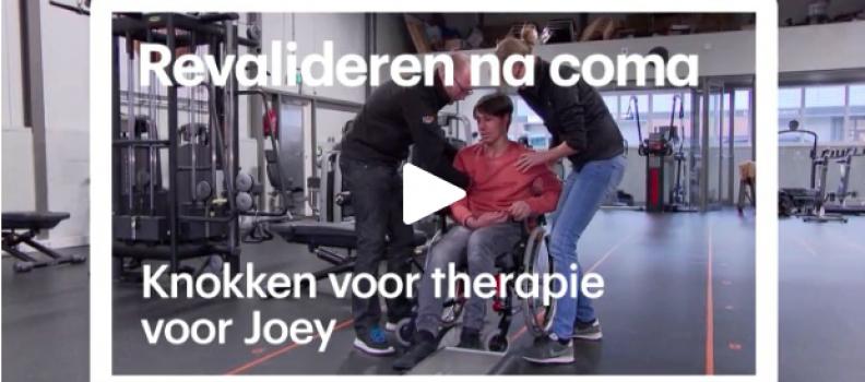 In RTL-nieuws: unieke revalidatiepatiënt bij Lijf en Visie