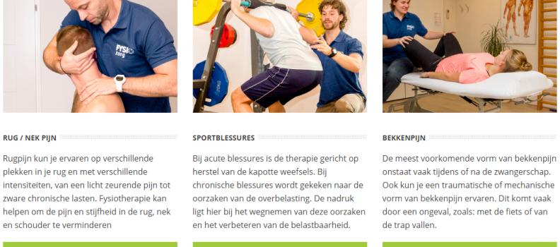 Uitgelicht: De kaart voor Fysiotherapie Nederland!